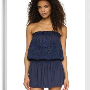 Melissa Odabash Fruley Strapless Cover Up Dress S